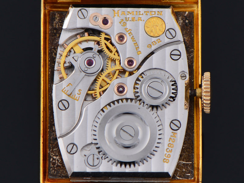 Hamilton Gordon 18K Yellow Gold Watch Movement