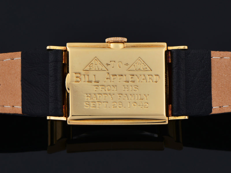Hamilton Gordon 18K Yellow Gold Watch Case Back