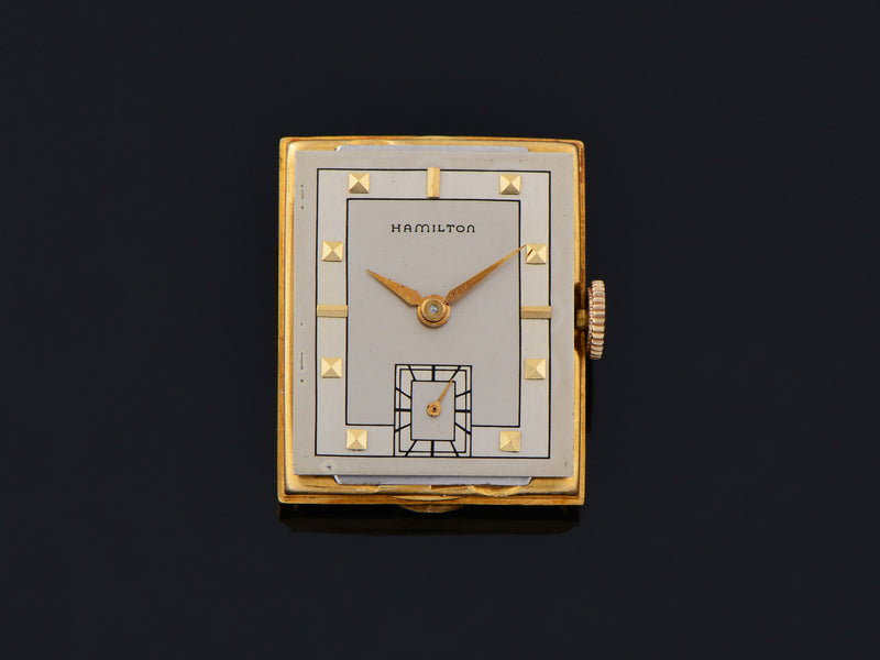 Hamilton Gordon 18K Yellow Gold Watch Dial
