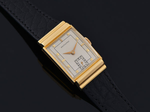 Hamilton Gordon 18K Yellow Gold Watch