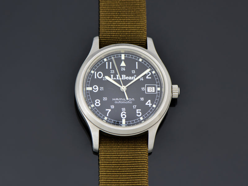 Hamilton L.L. Bean RAF Automatic 9721 With Date Ca. 1991 Watch