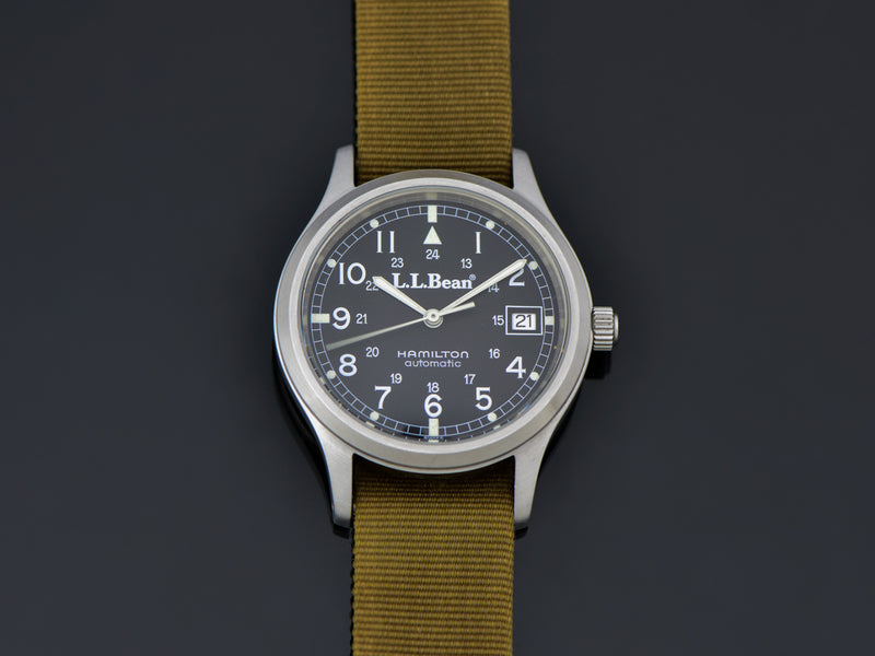 Hamilton 9721 L.L. Bean RAF Automatic With Date Ca. 1991 Watch