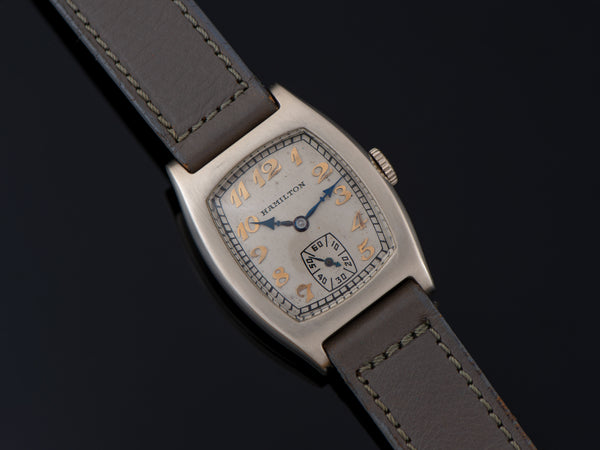 Hamilton Packard Award Langley 14K White Gold Watch
