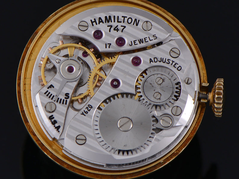 Hamilton Piping Rock 747 Watch Movement