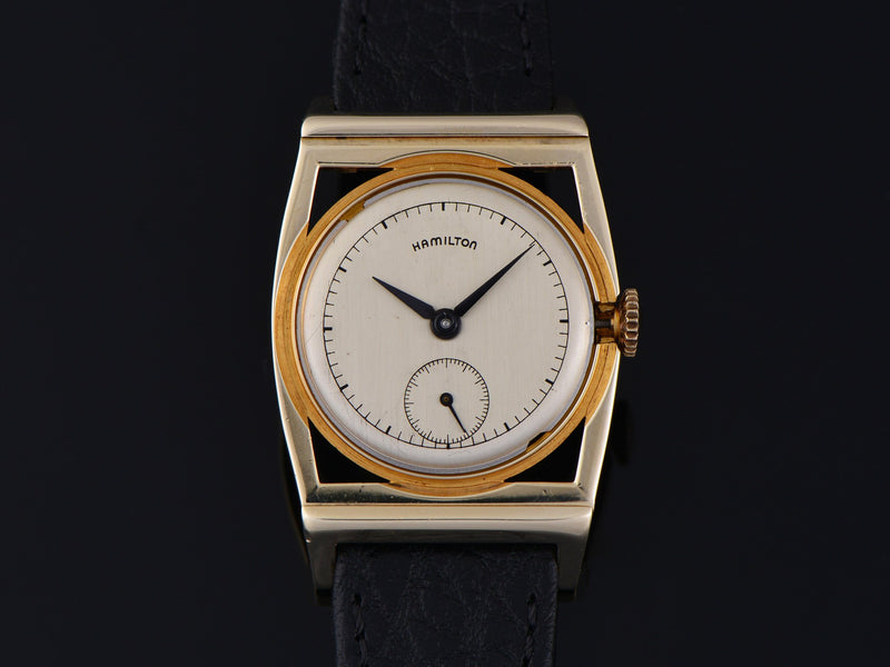Hamilton Piping Rock 14K Yellow Gold Watch Dial
