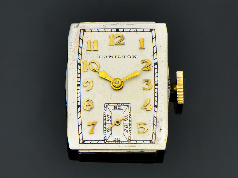 Hamilton Richmond 18K Gold Watch Dial | Vintage