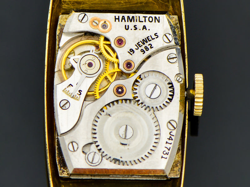 Hamilton Richmond 18K Gold Watch Movement | Vintage