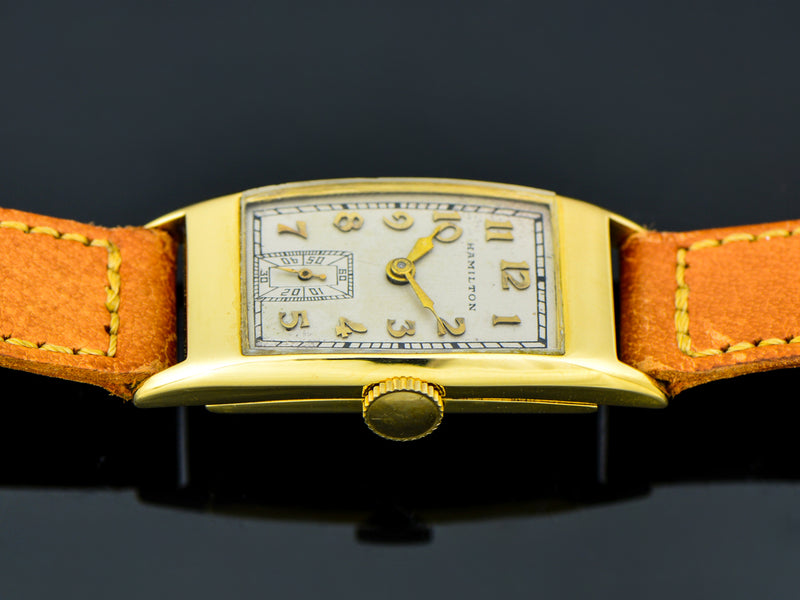 Hamilton Richmond 18K Gold Watch | Vintage