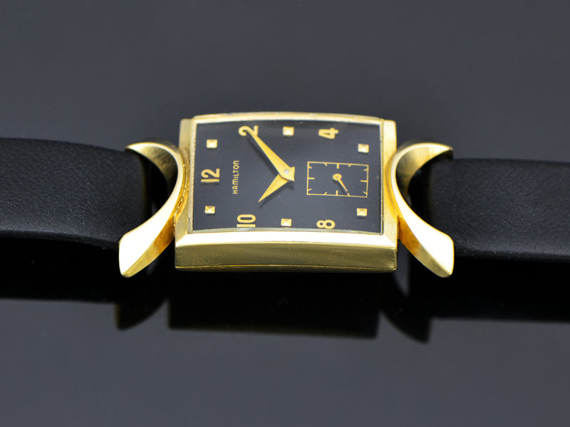 Hamilton Robert 14K Gold Watch