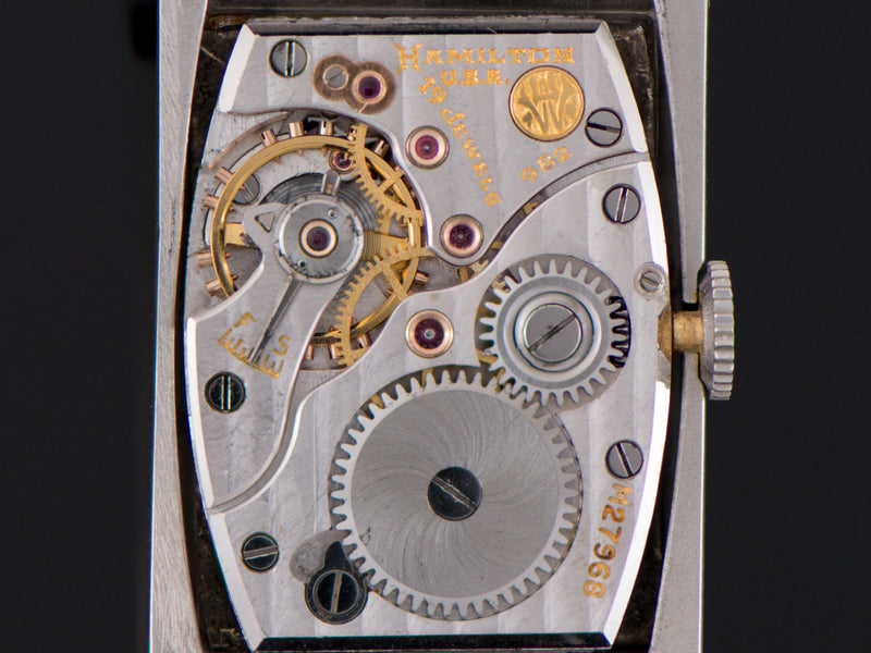 Hamilton Rutledge 982 Watch Movement