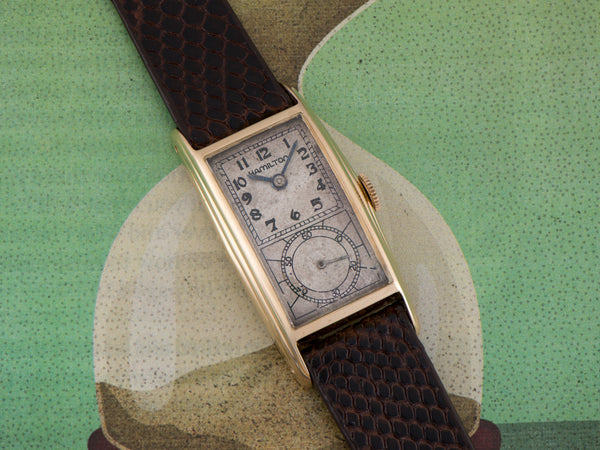 Hamilton Seckron B Doctor's Watch