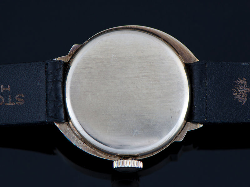 Hamilton Spur 14K White Gold Watch Case Back