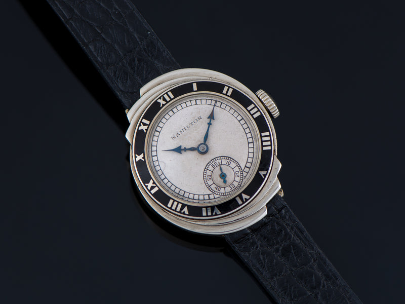 Hamilton Spur 14K White Gold Watch
