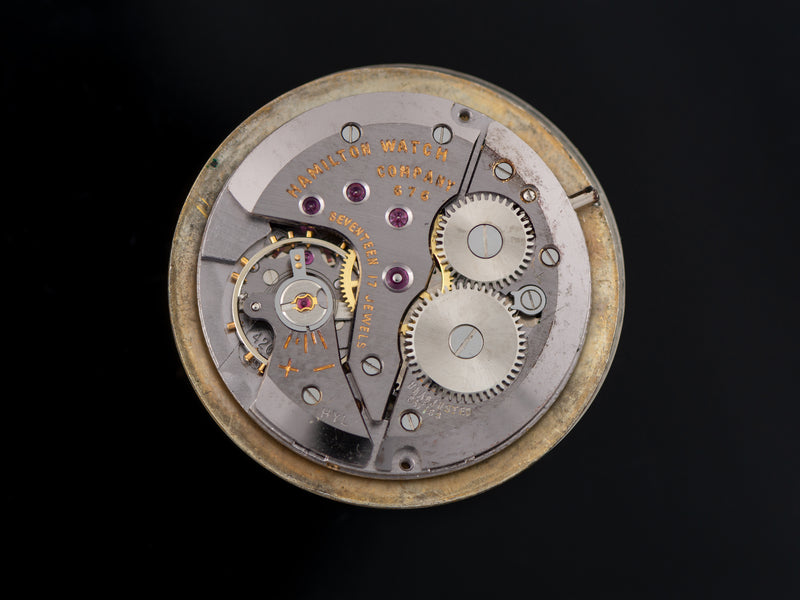 Hamilton Thinline T-4002 Watch Manual Wind 676 Watch Movement