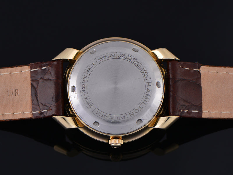 "Hamilton Transcontinental ""A"" Automatic Time Zone Watch Case Back"