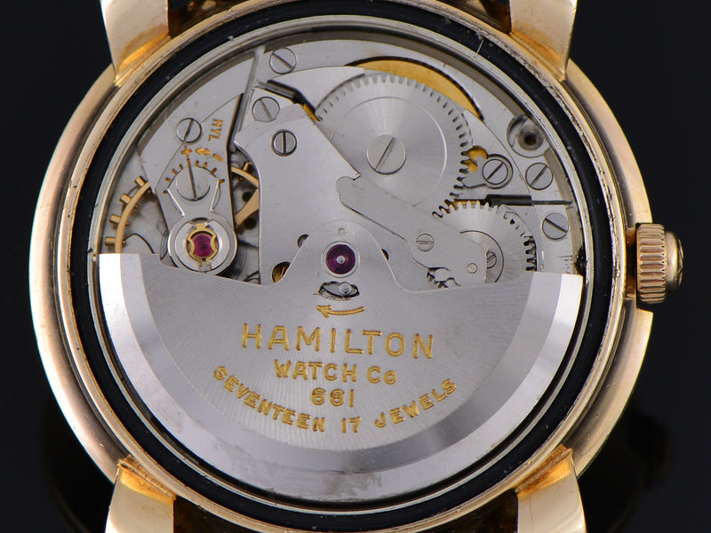 "Hamilton Transcontinental ""A"" Automatic marked Hamilton Watch Co 661 Seventeen 17 Jewels Swiss Movement"