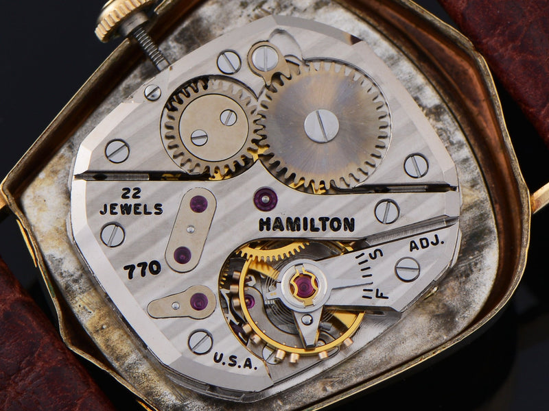 Hamilton Valiant 770 Mechanical Watch Movement