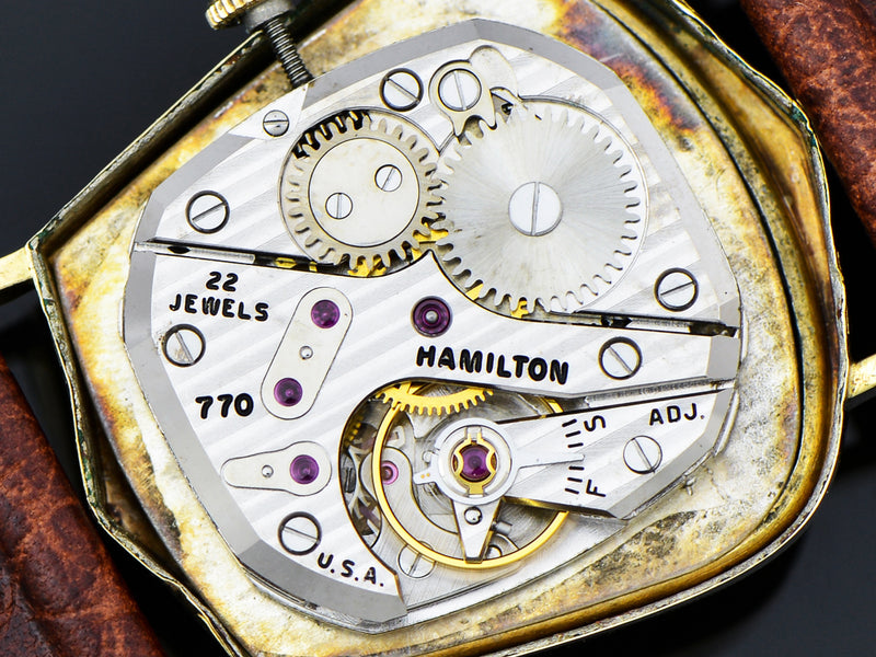 Hamilton 770 Movement for Hamilton Valiant Asymmetric Watch