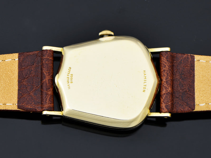 Hamilton Valiant Asymmetric Watch Case Back