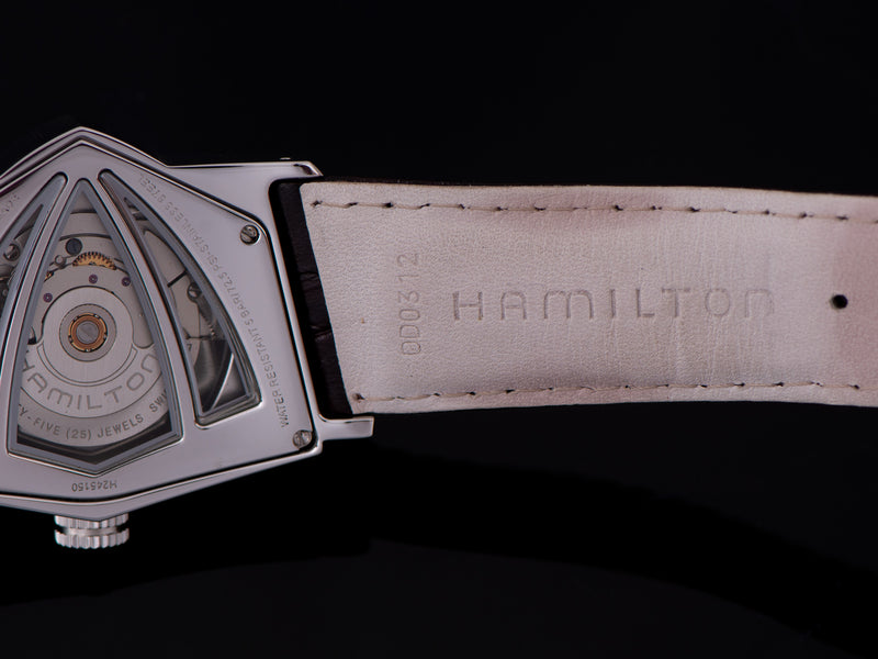 Original Hamilton marked Leather Watch Strap