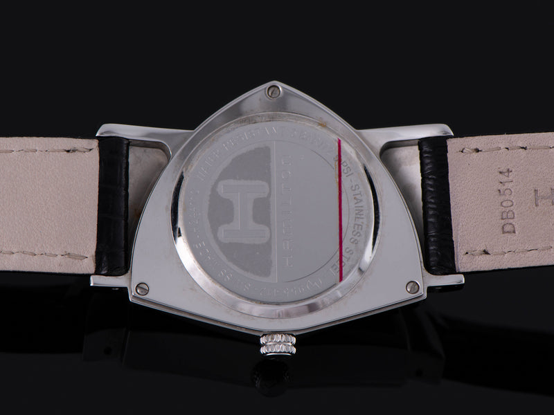 Hamilton Ventura Reissue Stainless Steel Watch Case Back