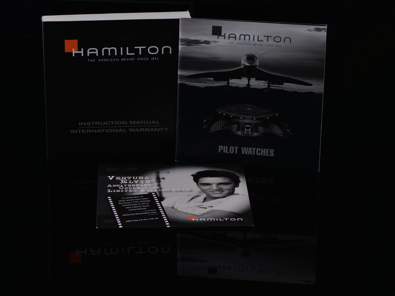 Hamilton Ventura XXL Elvis Presley 75th Anniversary H246150 Watch Papers
