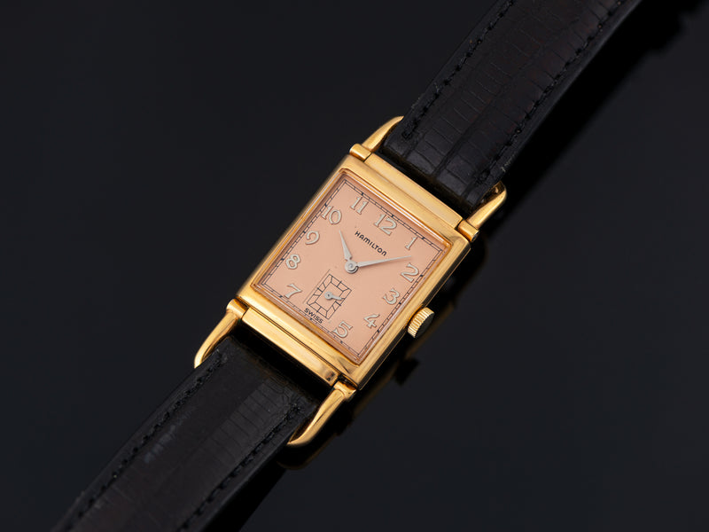 Hamilton Wilshire Watch Reissue Limited Edition Quartz