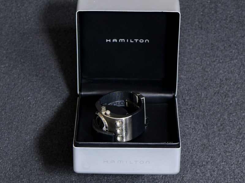 Hamilton X-01 Odyssey Watch With Box & Band