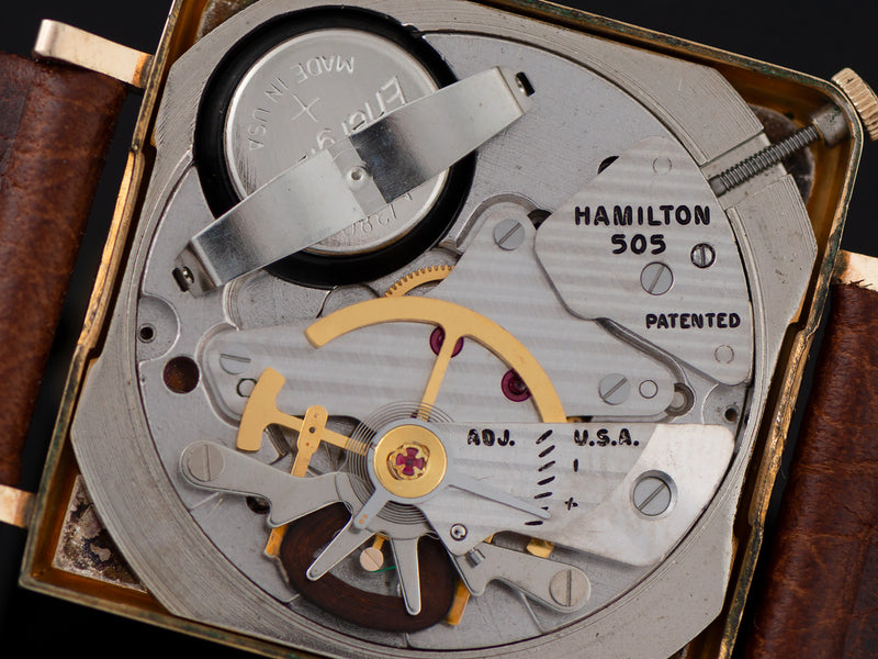 Hamilton Electric Victor Watch 505 Electric Movement