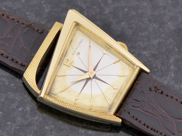 Hamilton 14K Solid Gold Flight I