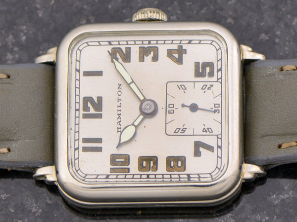 Hamilton 14K White Gold Hastings