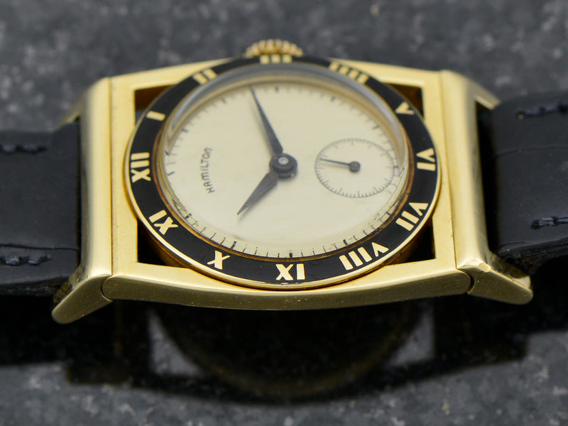 Hamilton 14K Yellow Gold Piping Rock