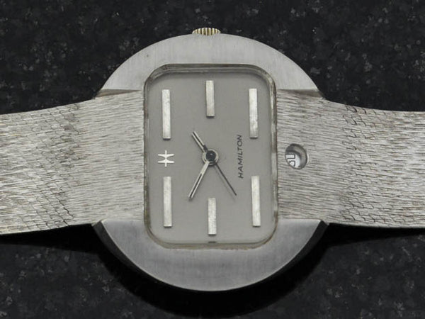 Hamilton 18K Case & Bracelet Intra-Matic