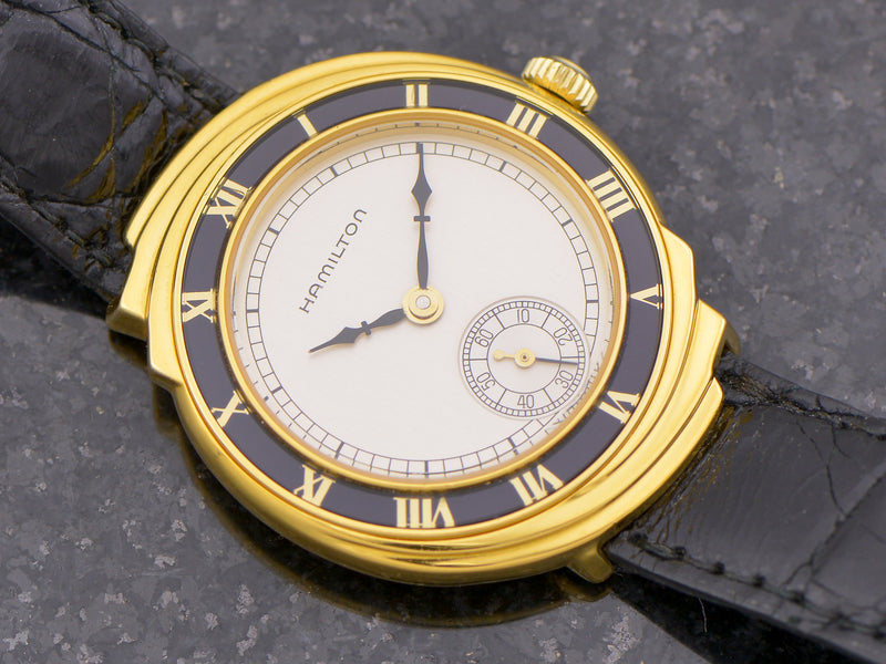 Hamilton 18K Solid Gold Limited Spur