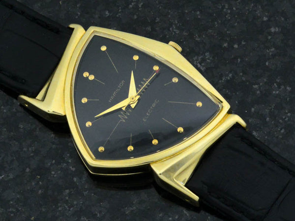 Hamilton Electric 14K Gold Pacer (Ventura II) Watch