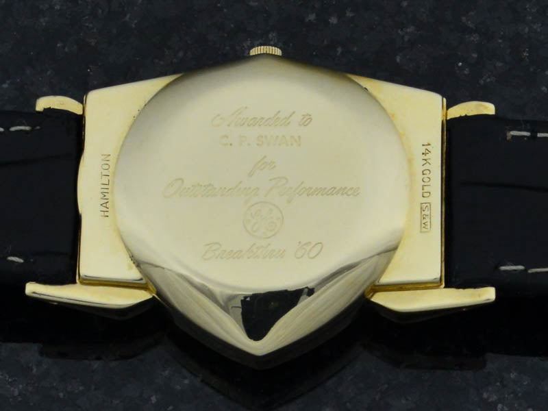 Hamilton Electric 14K Gold Pacer (Ventura II) Watch Case Back