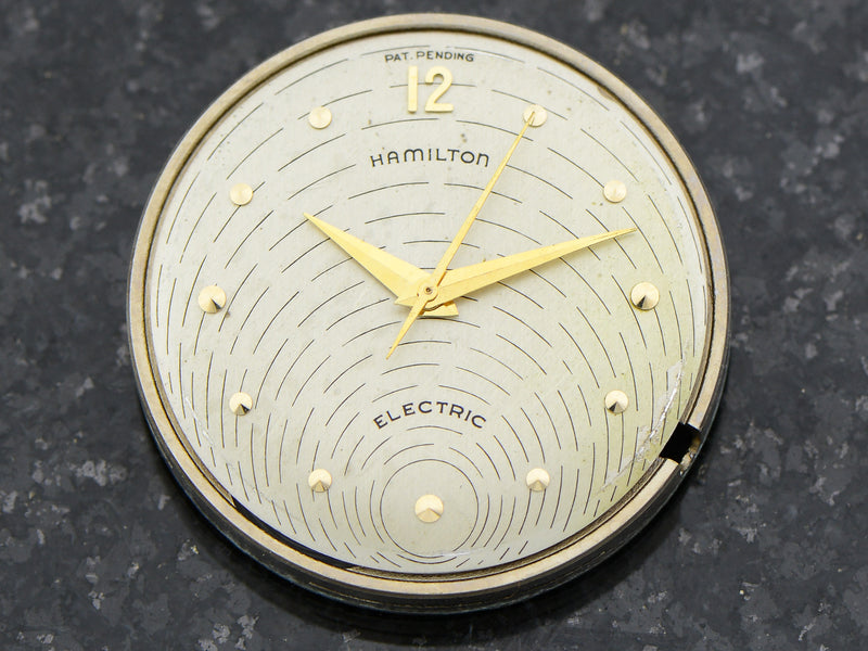 Hamilton Electric 14K Silver Dial Spectra Watch Dial