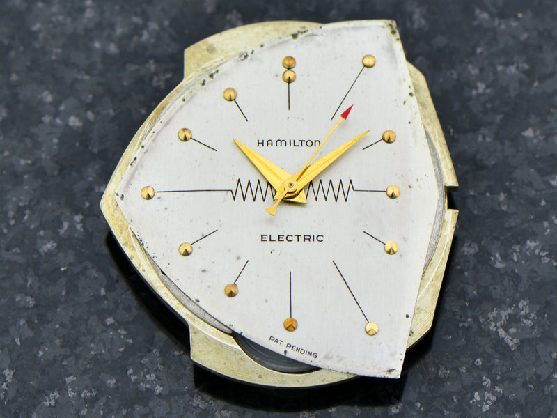 Hamilton Electric 14K Silver Dial Ventura Watch Dial