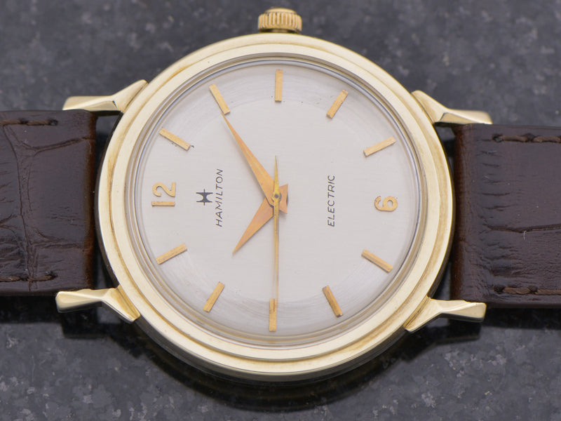 Hamilton Electric 14K Summit Vintage Watch