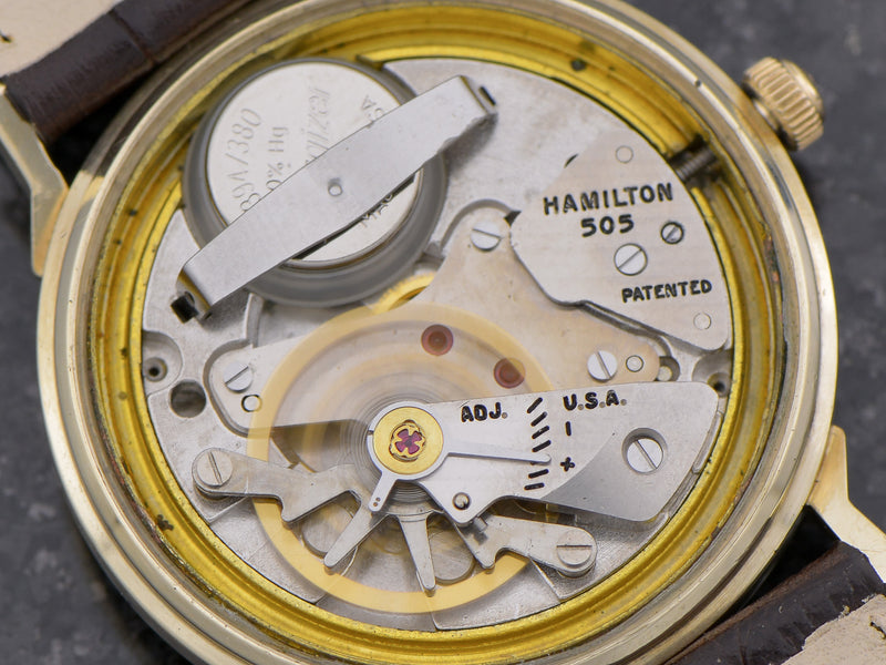 Hamilton Electric 14K Summit Vintage Watch 505 Hamilton Electric Movement