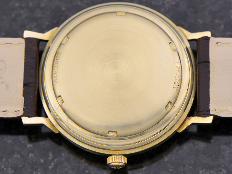 Hamilton Electric 14K Summit Vintage Watch Caseback