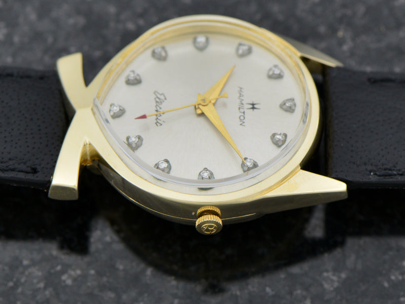 Hamilton Electric 14K Yellow Gold Lord Lancaster E