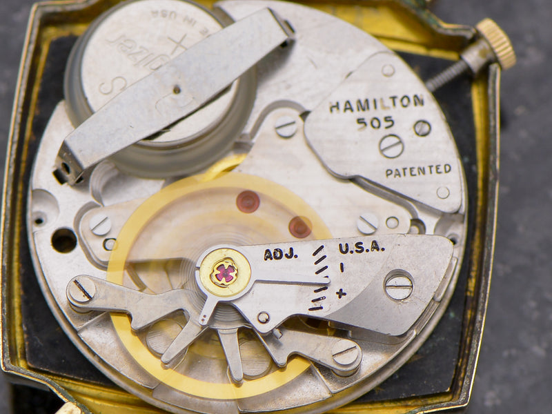 Hamilton Electric Black Dial Everest II