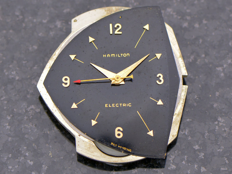 Hamilton Electric Black Dial Pacer