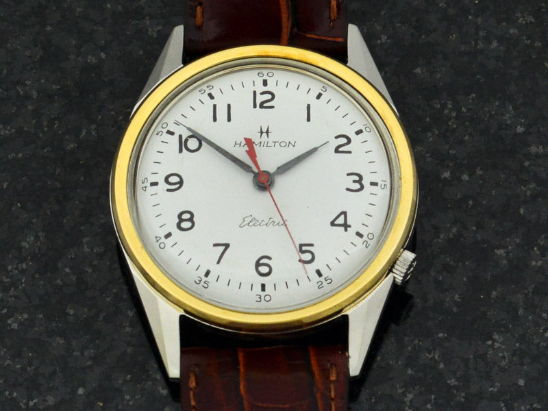 Hamilton Electric Clearview White Dial