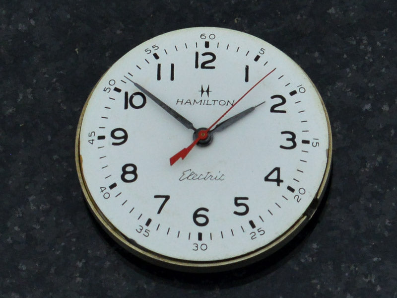 Hamilton Electric Clearview White Dial Vintage Watch Dial
