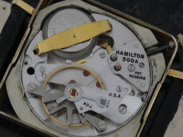 Hamilton Electric GE Victor Watch 500A Electric Movement
