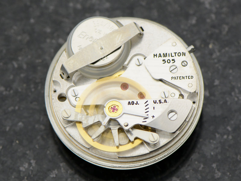 Hamilton Electric Nautilus 405 Watch 505 Hamilton Electric Movement