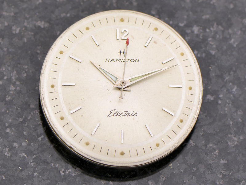Hamilton Electric Sea-Lectric II dial