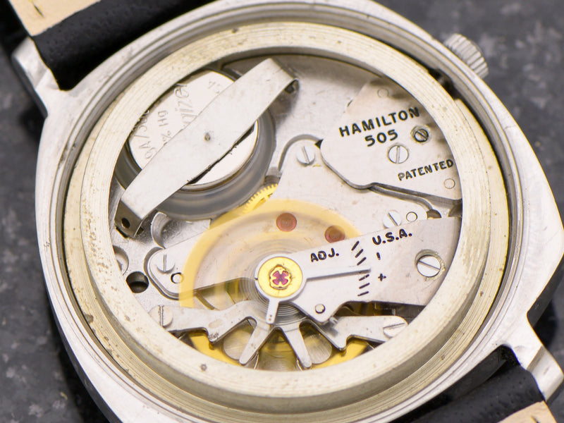 Hamilton Electric Sea-Lectric II watch 505 electric movement